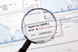 AAPL BTC Apple stock market