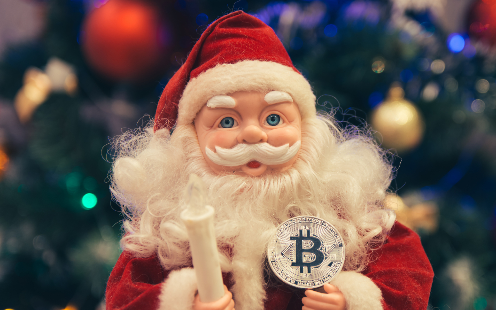 Bitcoin price santa claus