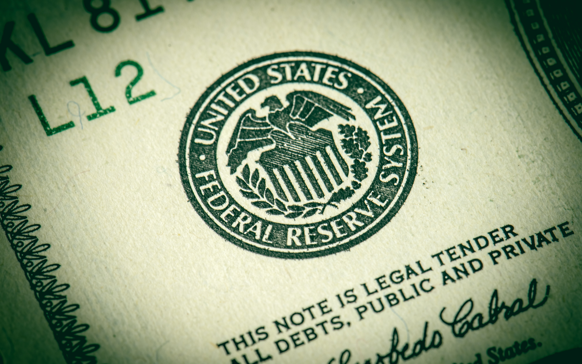 Federal Reserve Note Dollar
