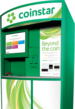 coinstar change machine