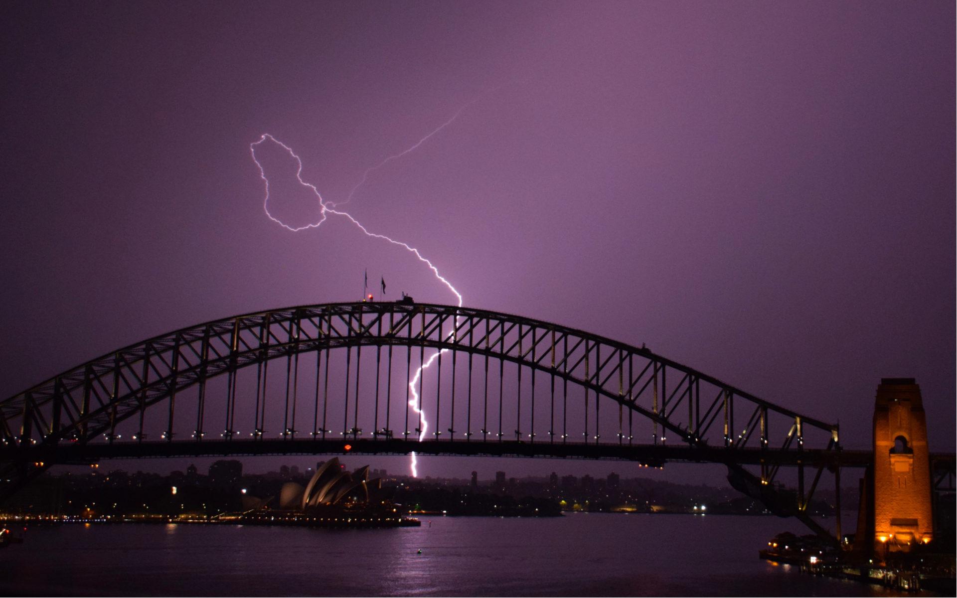 Australia Sydney Lightning