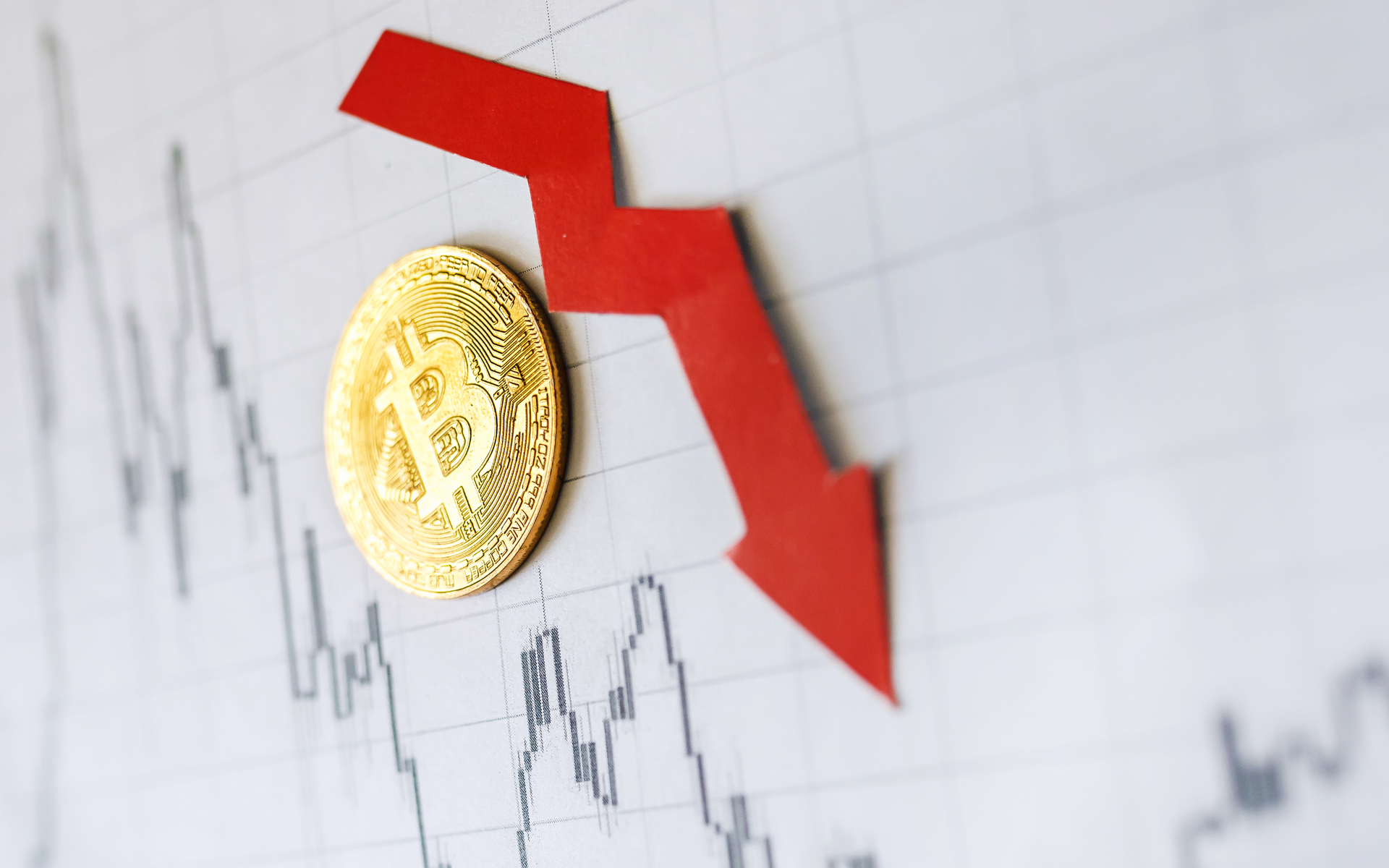 bitcoin price chart down