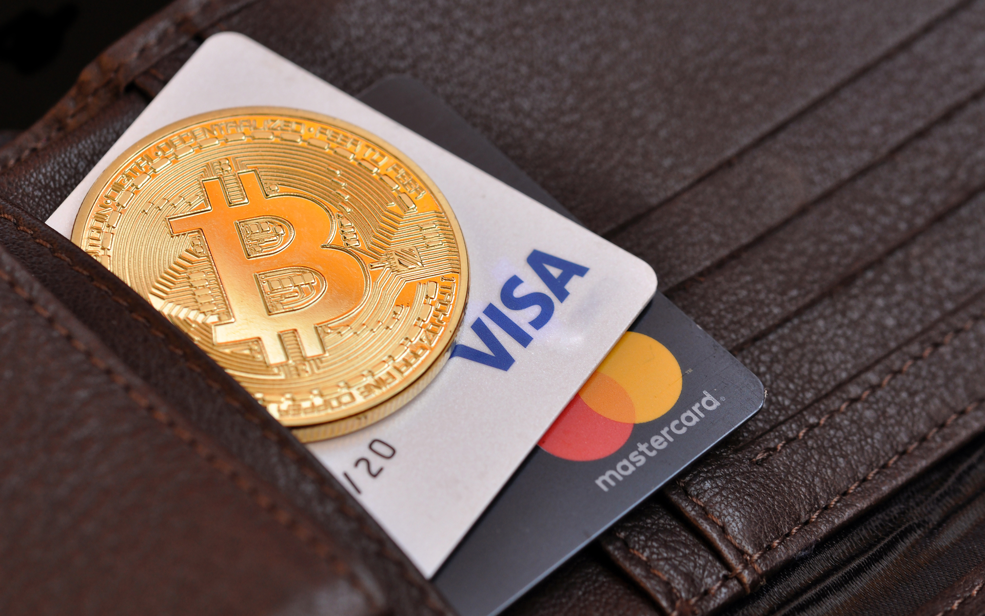 bitcoin visa mastercard