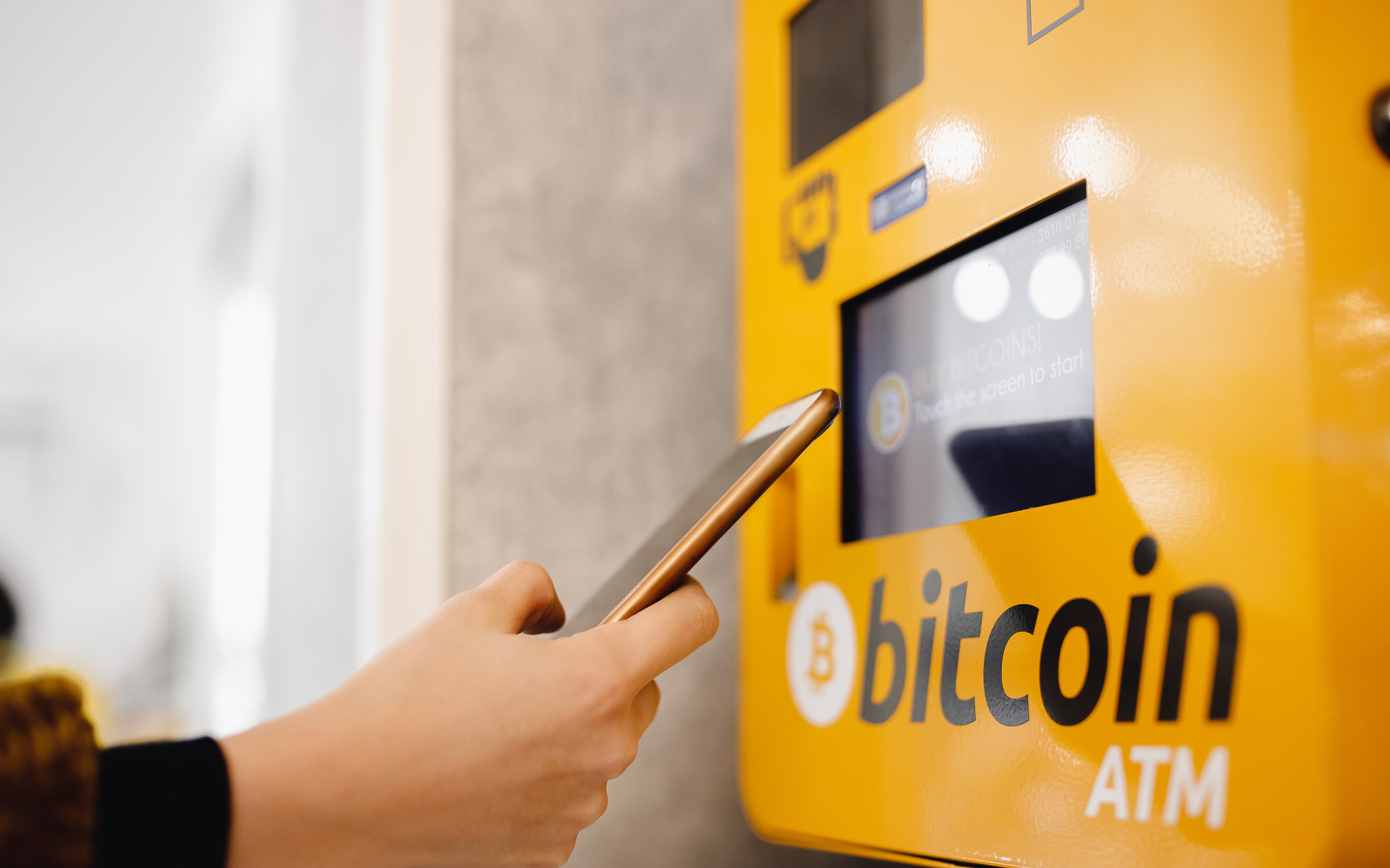 The very first Bitcoin ATM in Venezuela
