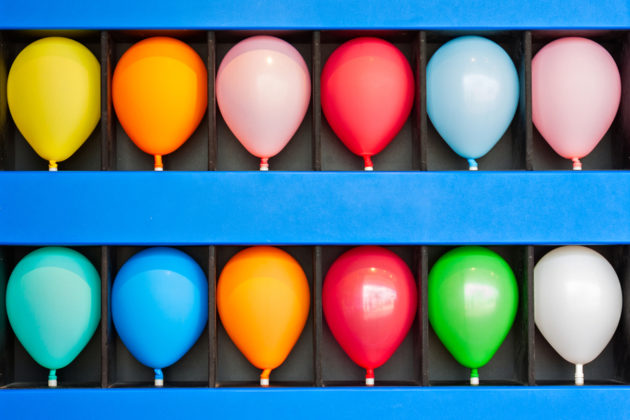 Cryptocurrency balloons pop bubble dotcom