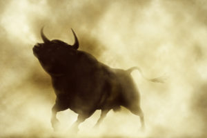 Bitcoin bull bullish