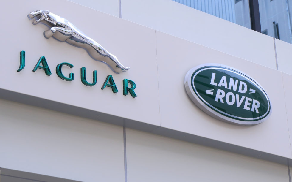 jaguar land rover blockchain