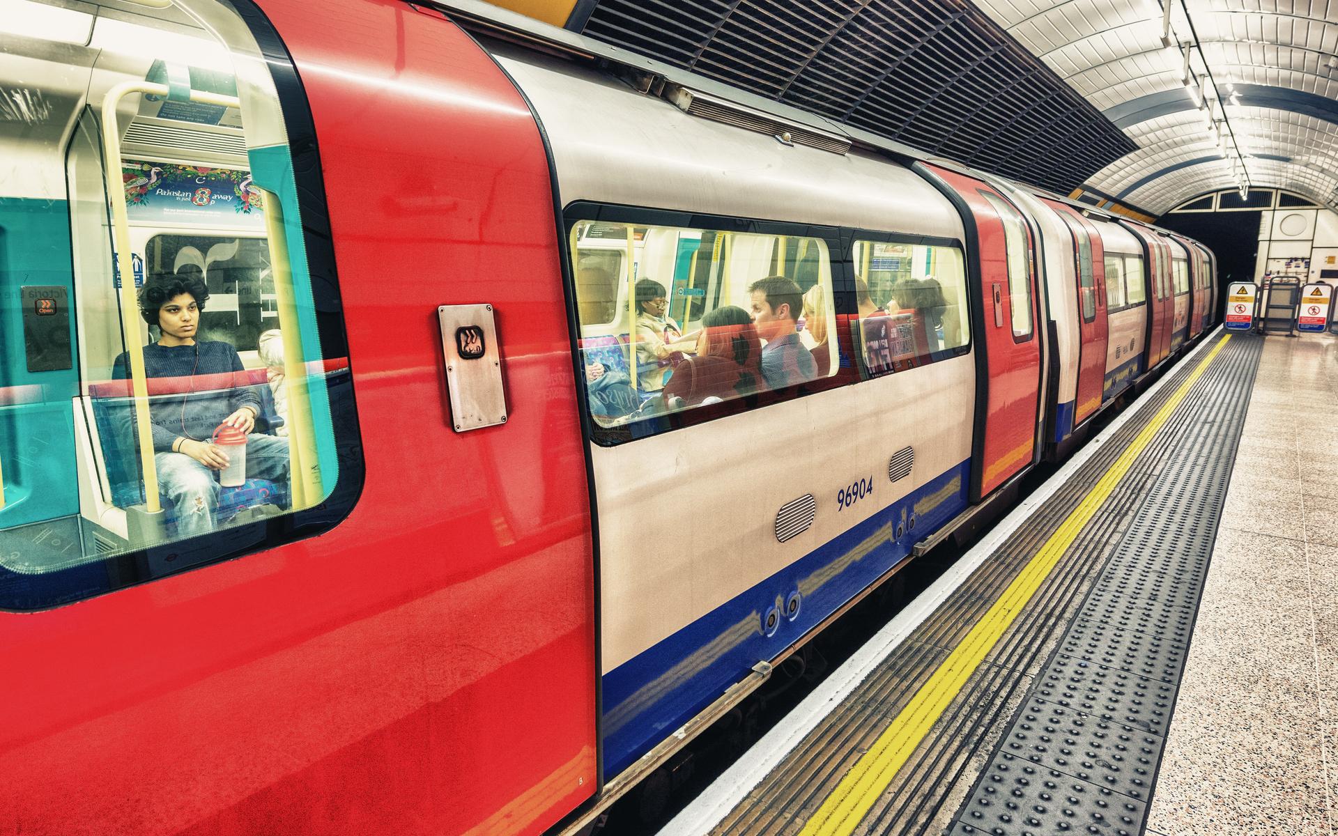 london train blockchain