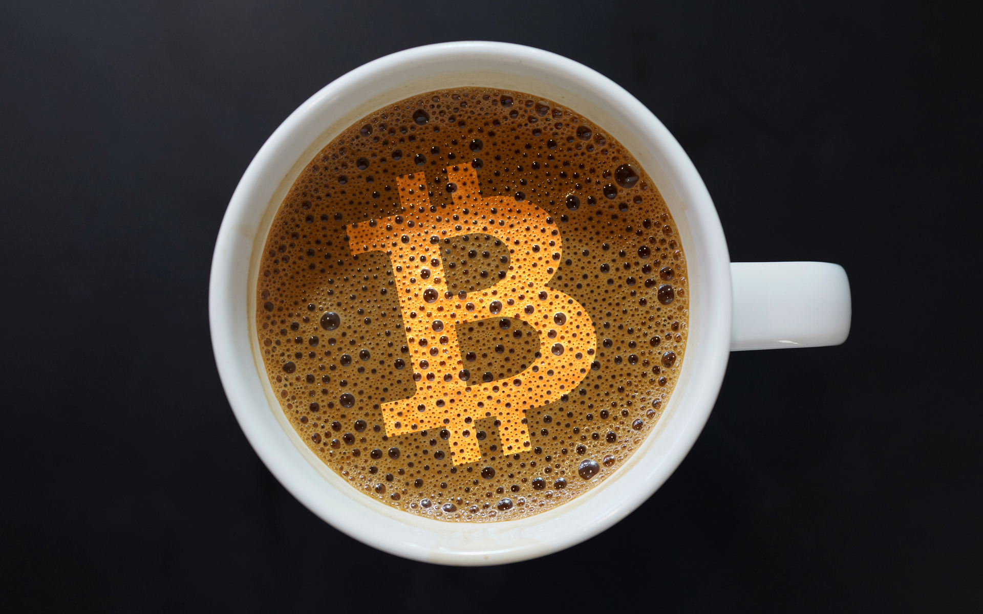 bitcoin coffee morning brew crypto gold