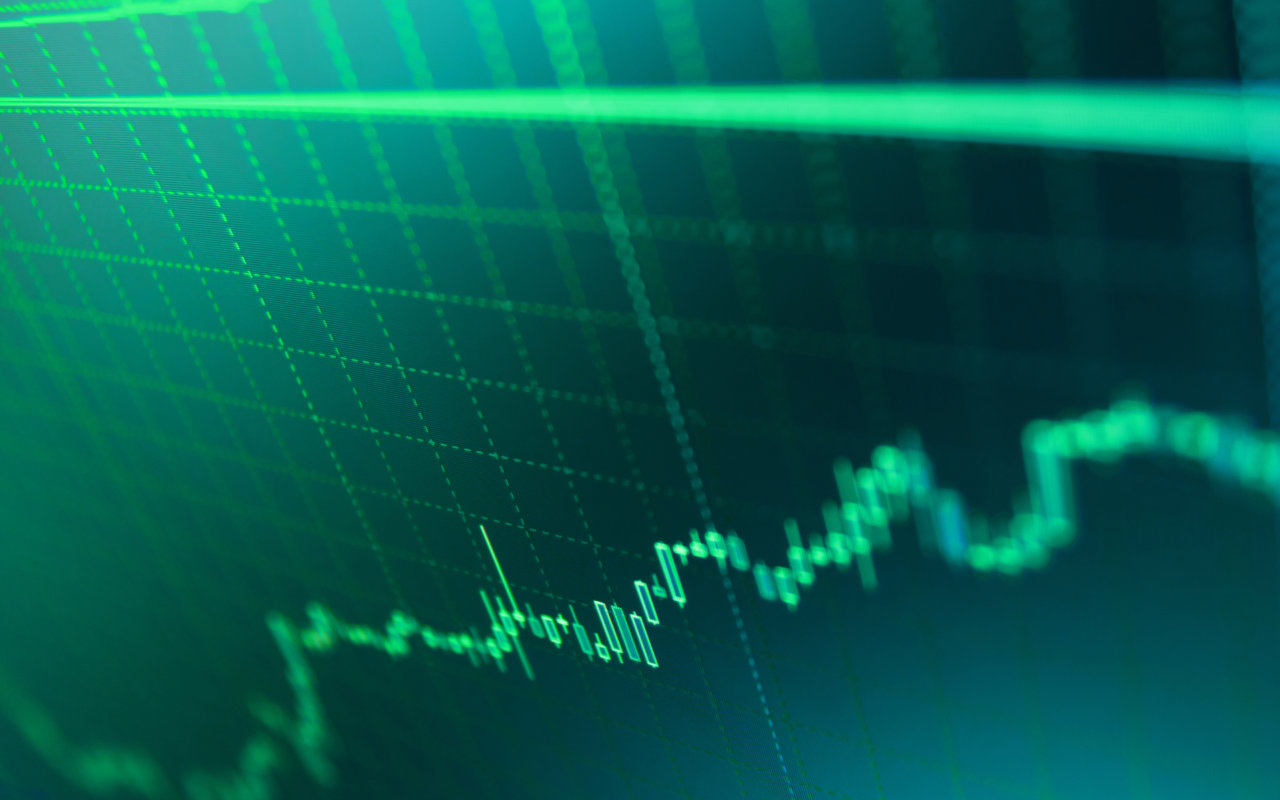 bitcoin price green