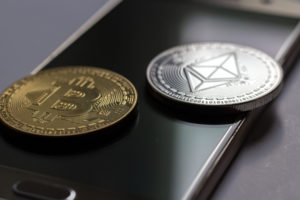 ethereum bitcoin smartphone