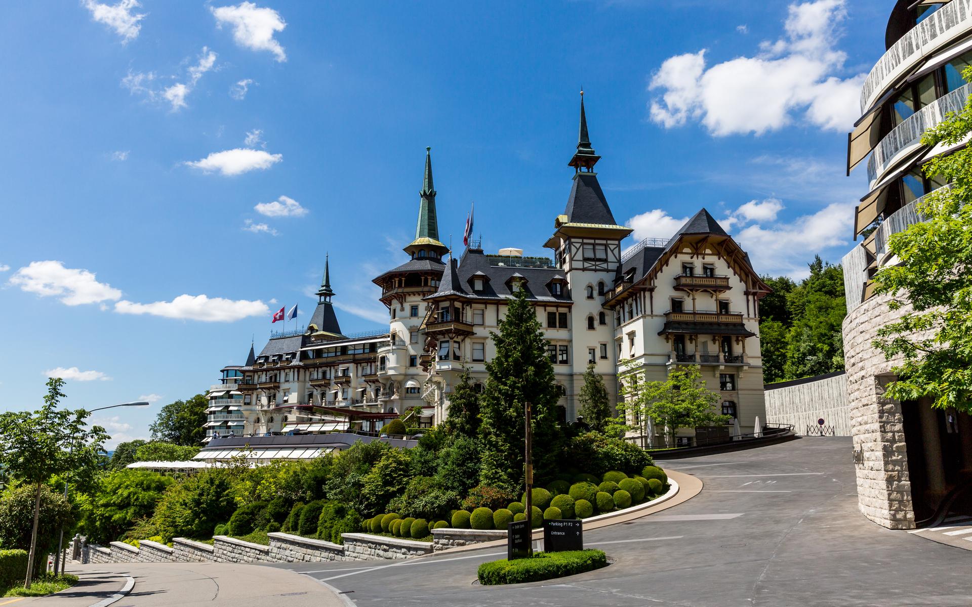 switzerland dolder hotel bitcoin