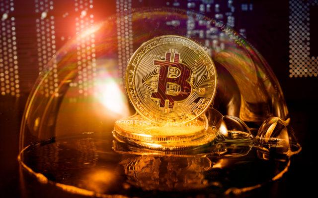 bitcoin price bubble