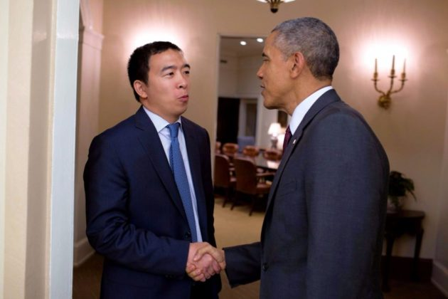 Andrew Yang is the Bitcoin-Friendly U.S. 2020 Presidential Candidate
