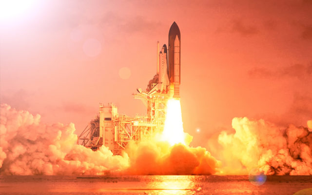 Blockchain rocket launch binance chain
