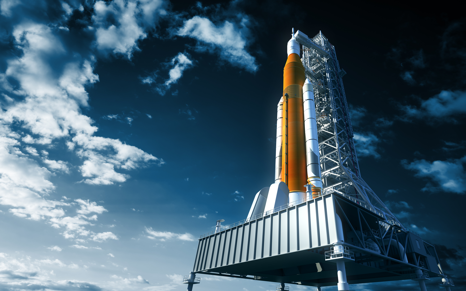 space shuttle launchpad moon bitcoin