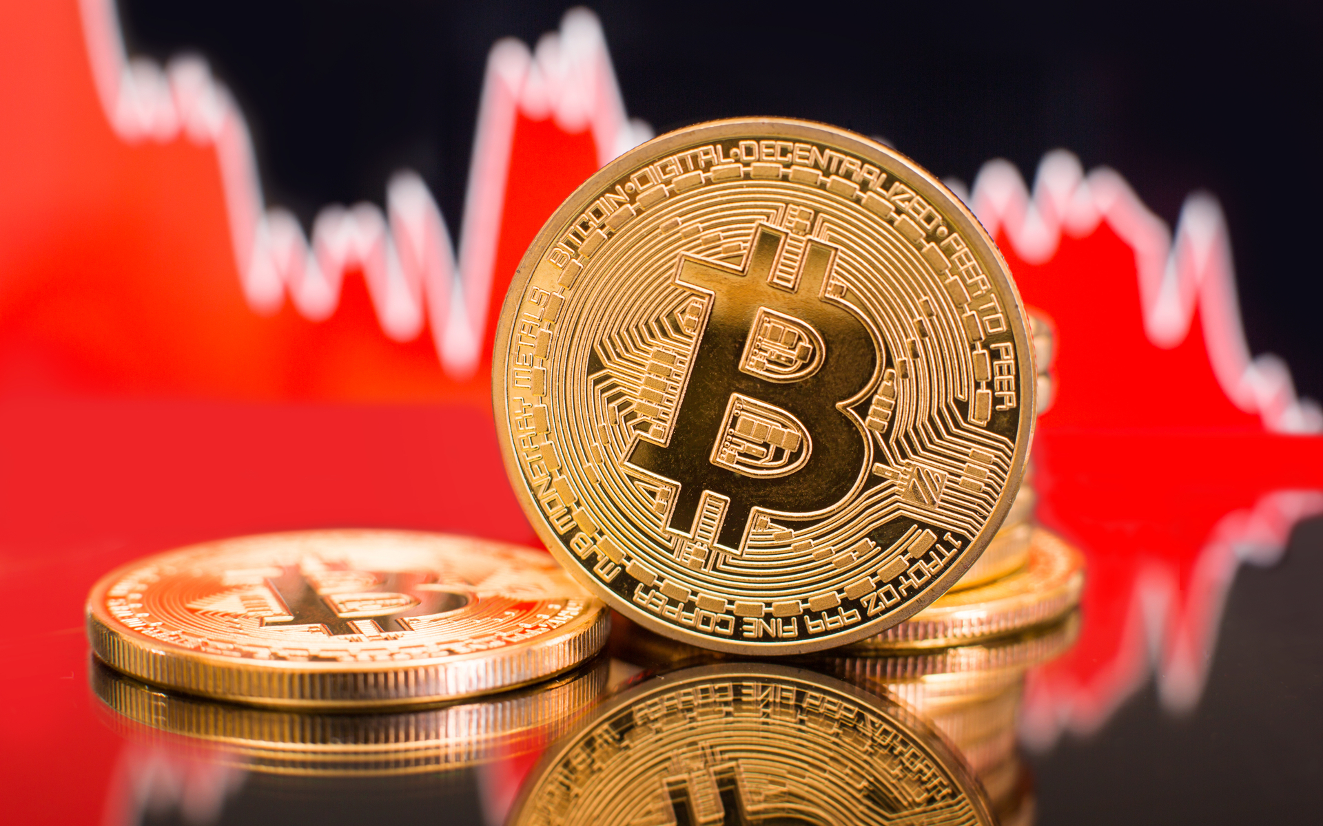 bitcoin price crash dump red