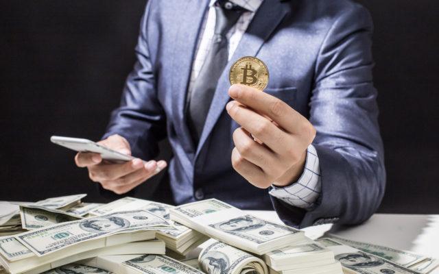 buy bitcoin businessman