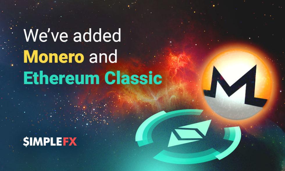 simplefx monero ethereum classic