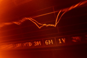 chart bitcoin price red