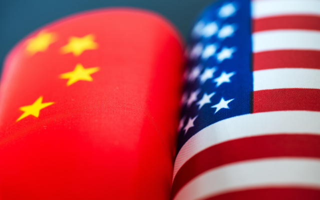 Stocks Plunge, Bitcoin Up as US-China Trade War Escalates