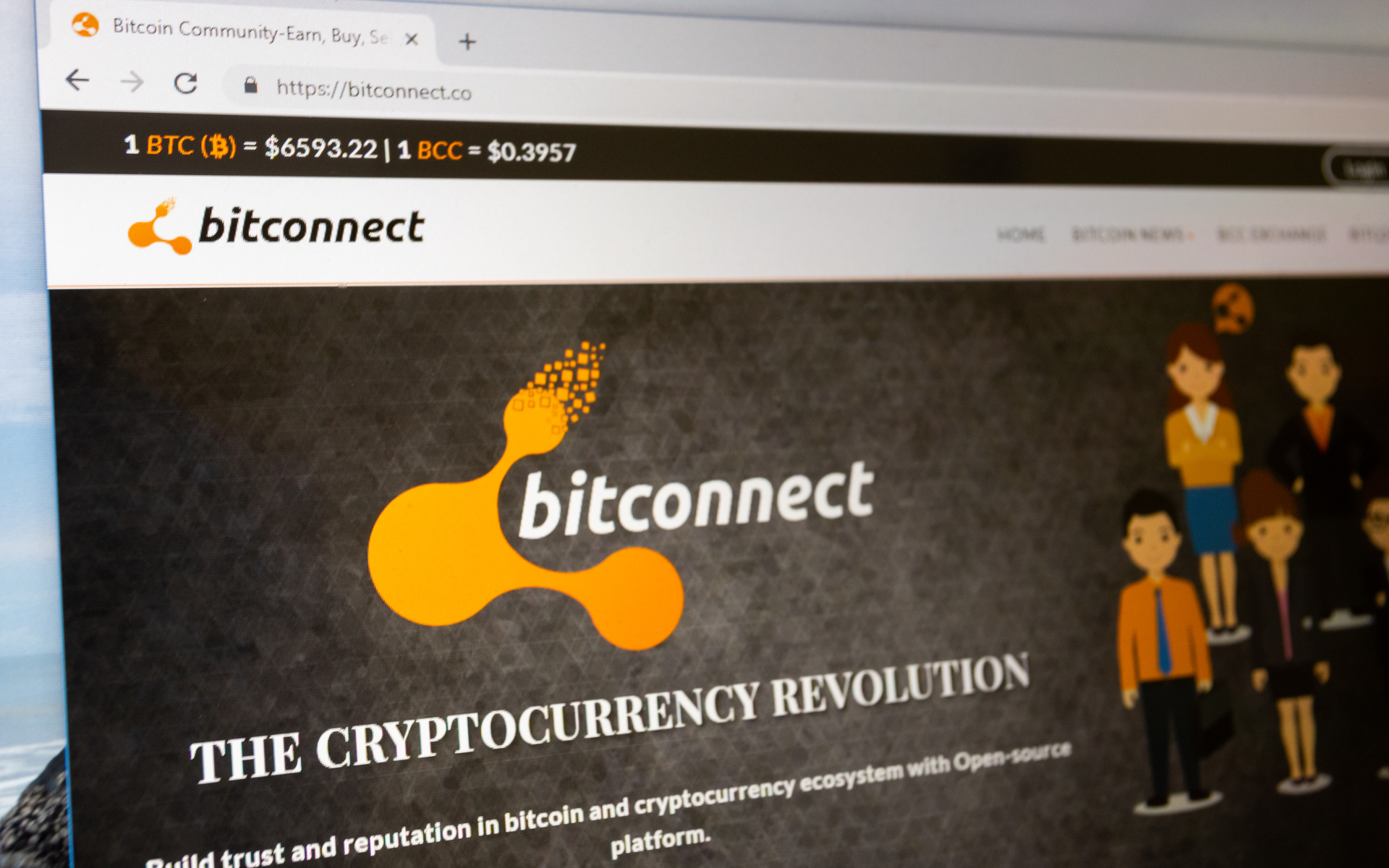 cryptocurrency market bitconnect
