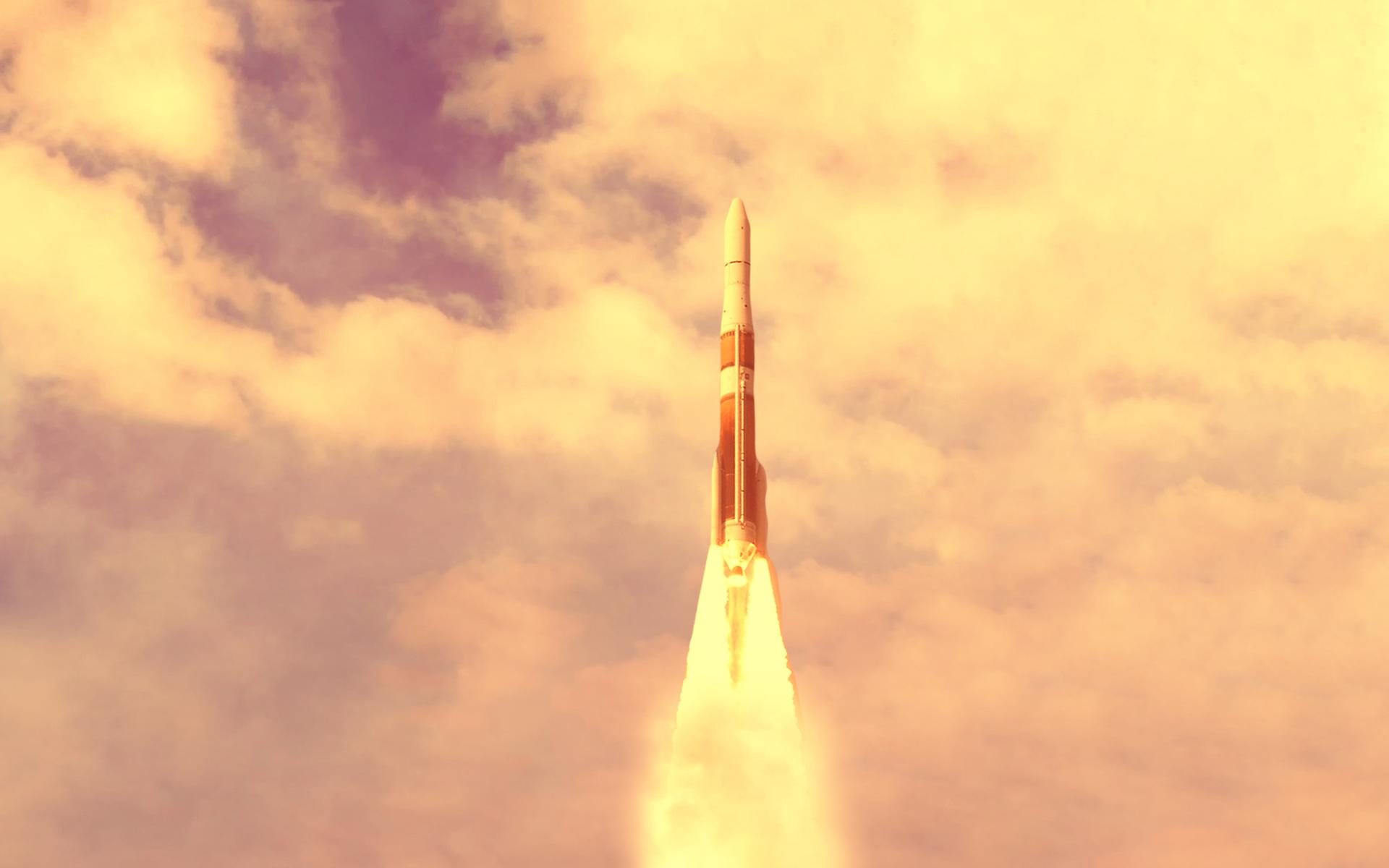 bitcoin bull market rocket