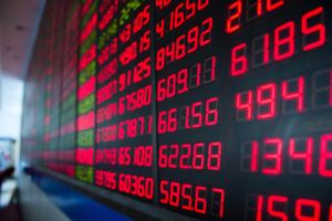 stocks red bitcoin