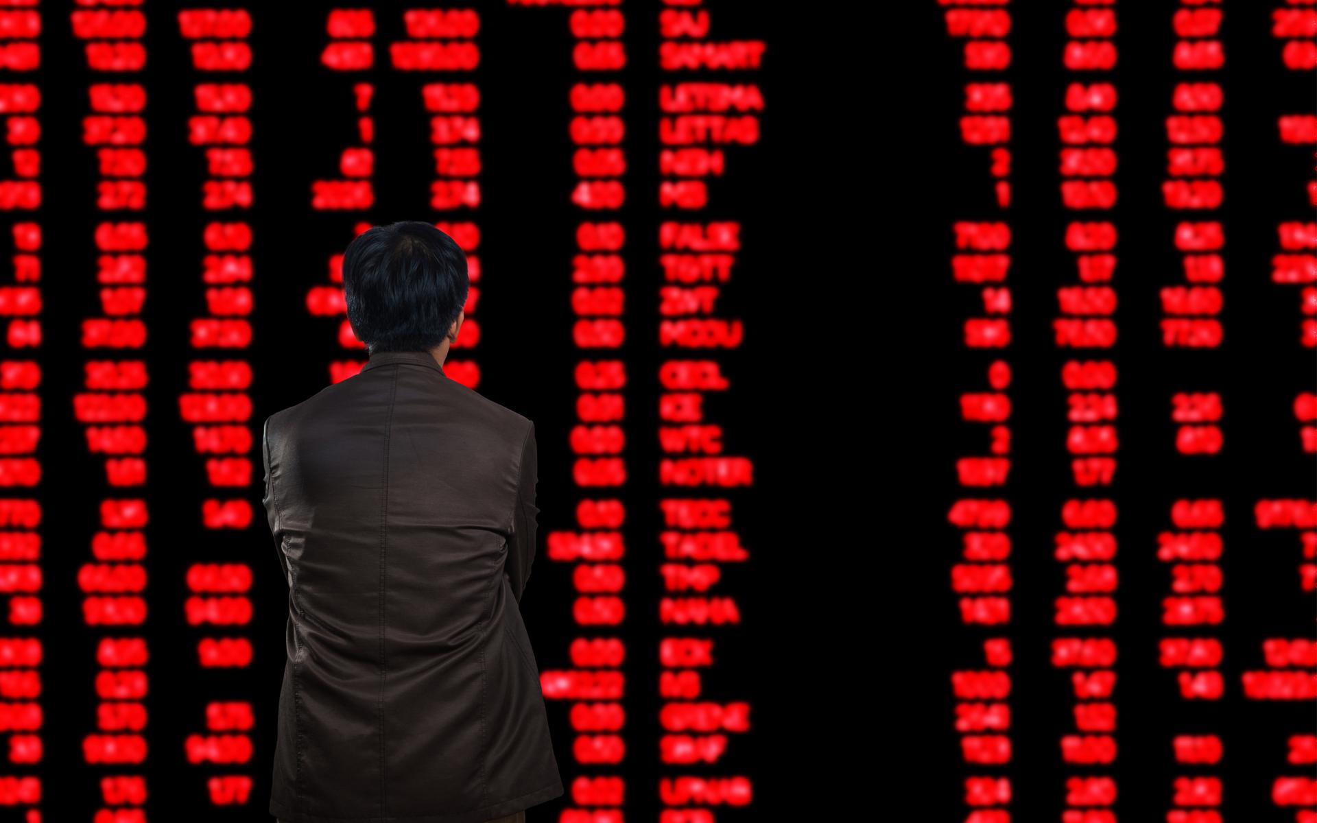 crypto bitcoin markets red