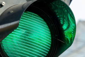 Bitcoin green light