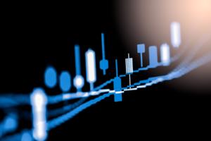 bitcoin price rising wedge chart