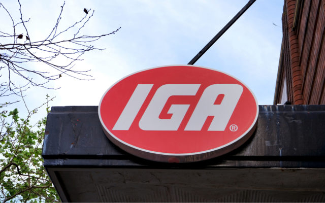 IGA accepts bitcoin payments