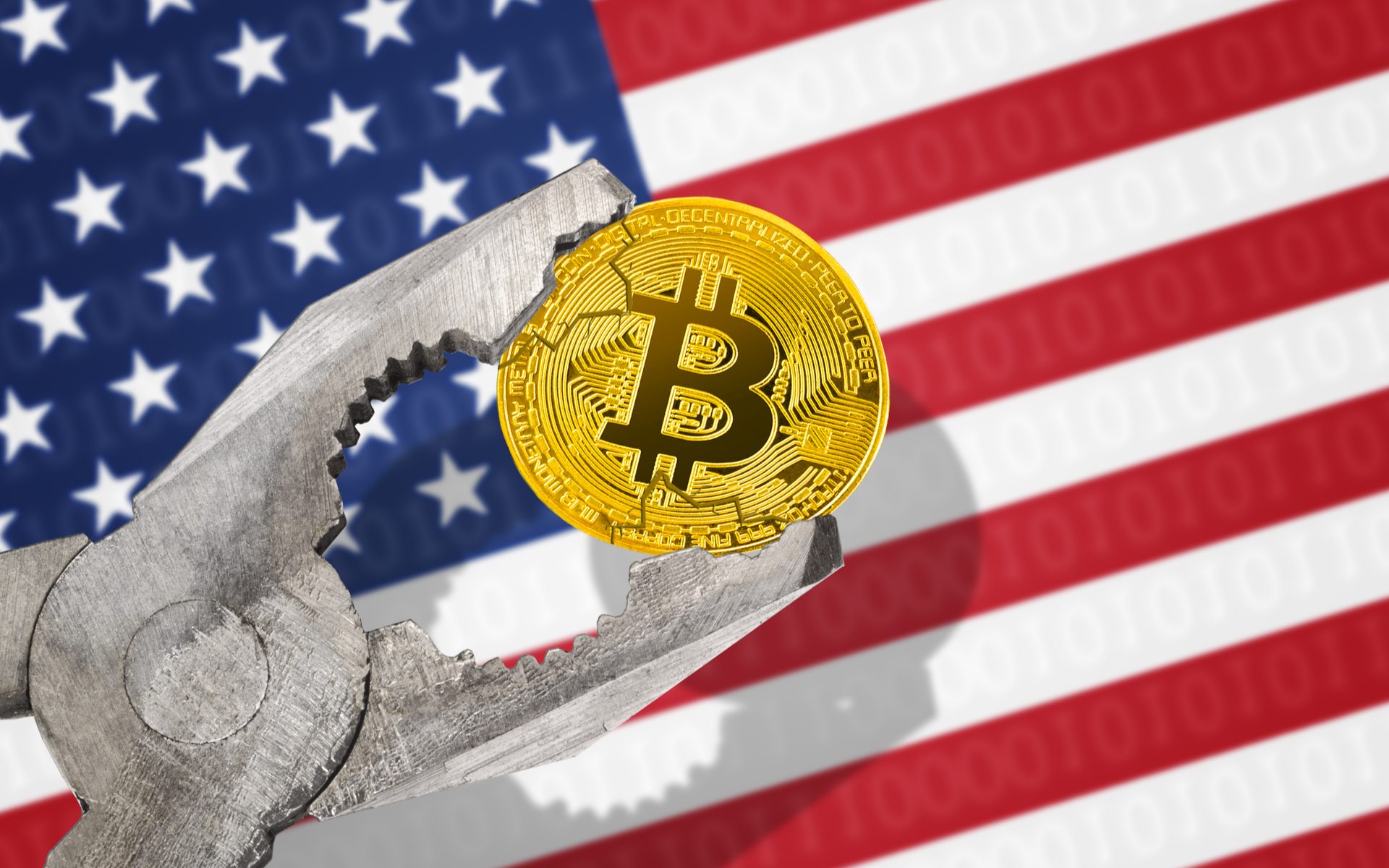 President Trump wants to ban bitcoin