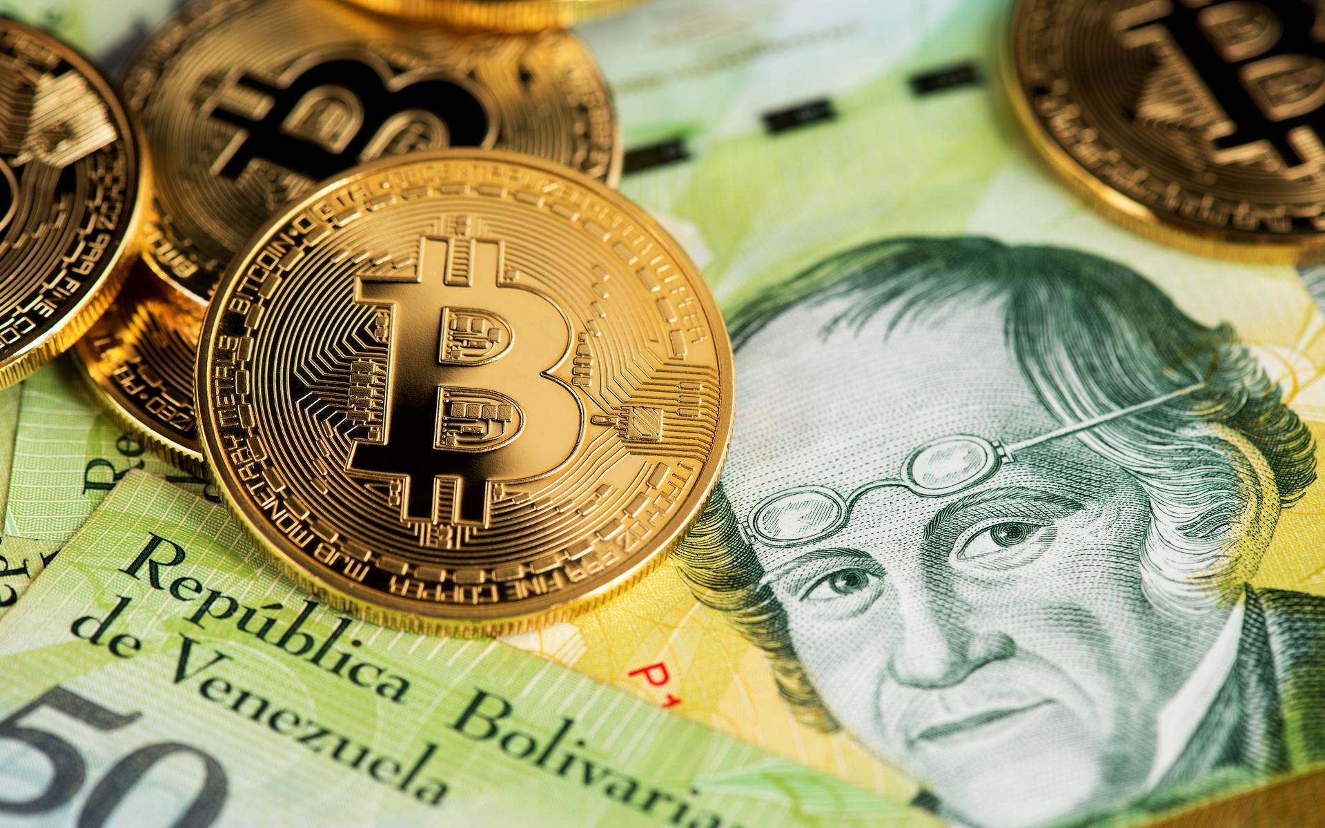 Bitcoin better than bolivar