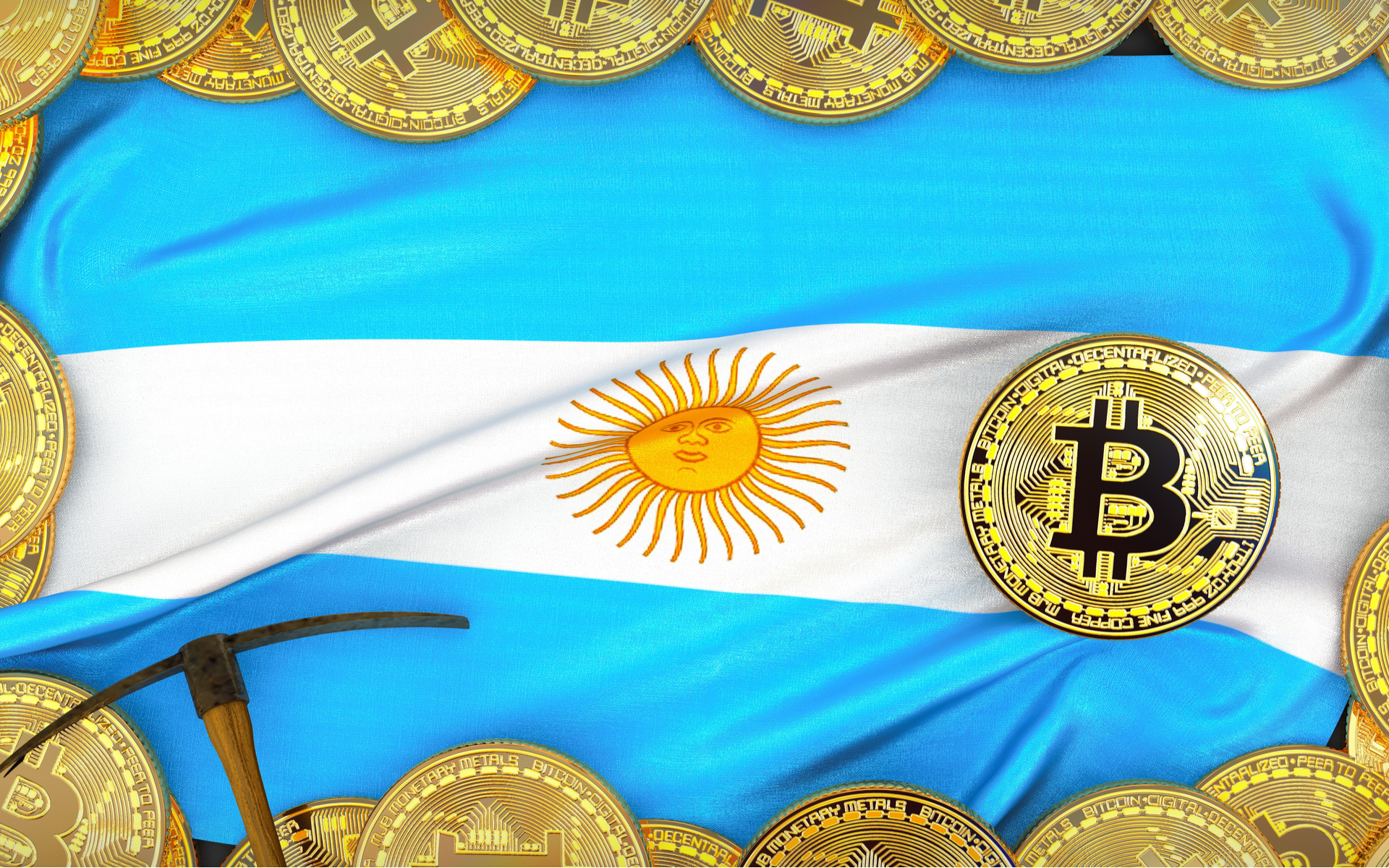 Argentina bitcoin activity rising