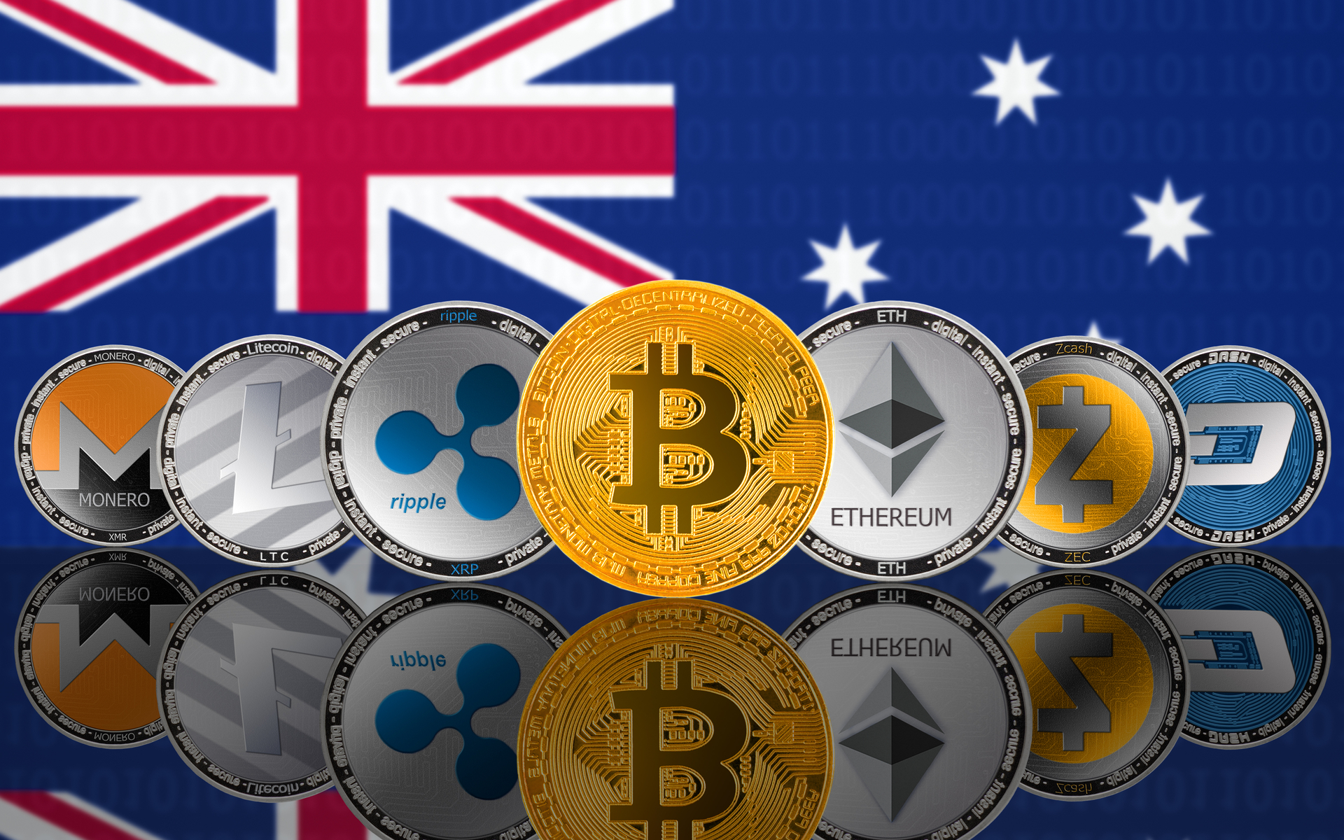 australia open to cryptocurrency