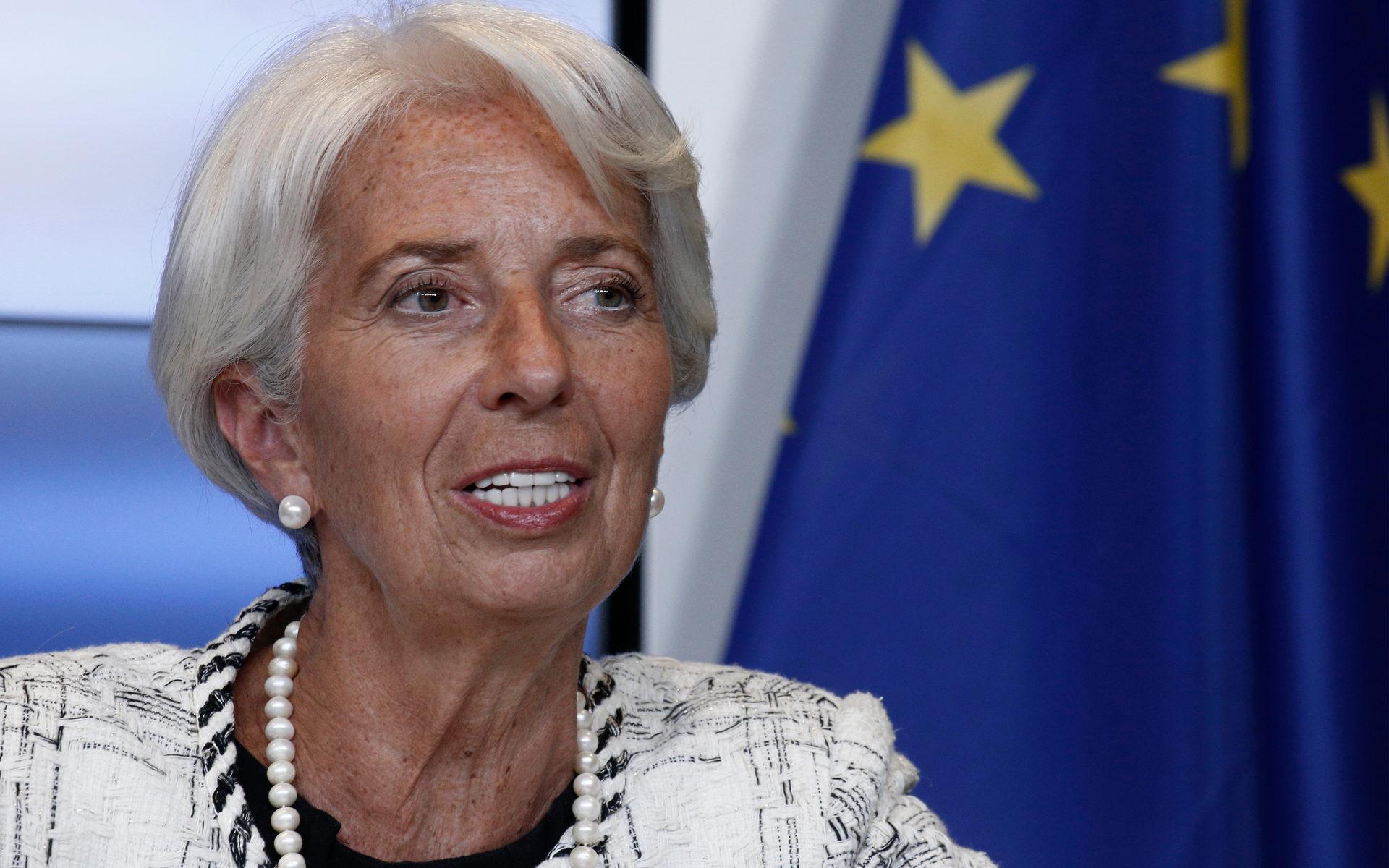 Christine Lagarde digital currency ECB