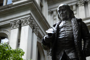 benjamin franklin the first bitcoin miner