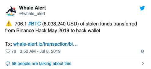 Binance Hack: $8 Million in Bitcoin Moves As Price Hits $12K