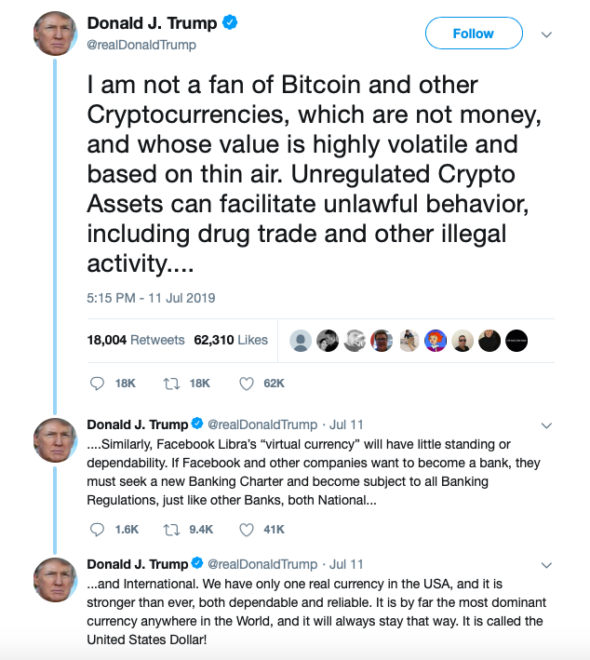 donald trump cryptocurrency