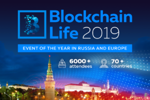 Blockchain Life 2019 Moscow