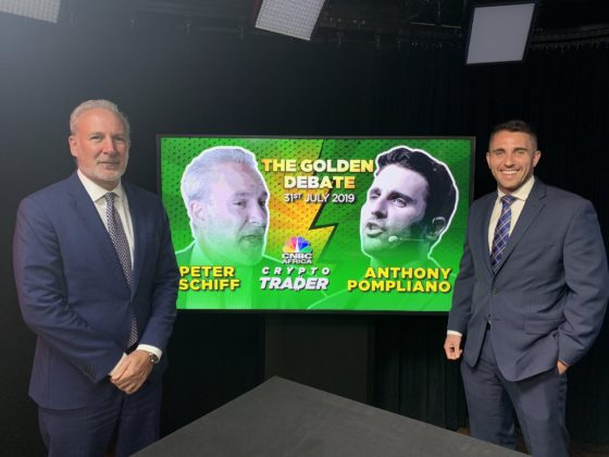 Peter Schiff Will Regret Being Wrong About Bitcoin: Pompliano In CNBC Debate