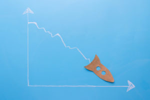 Litecoin price and hashrate down