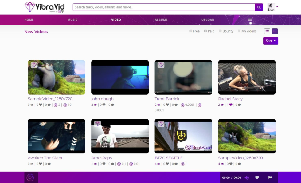 VibraVid Inc.'s music and content sharing platform utilizing BeatzCoin (BTZC) is set to launch