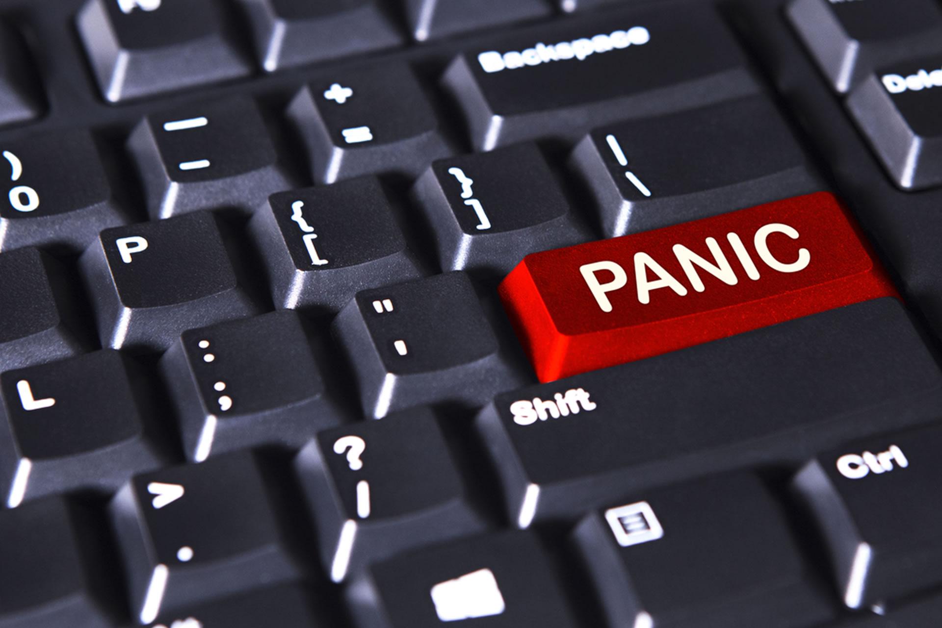 bitcoin panic