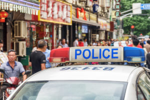 crypto project in China raided