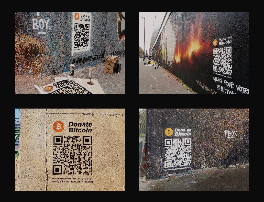 pascal boyart bitcoin btc art