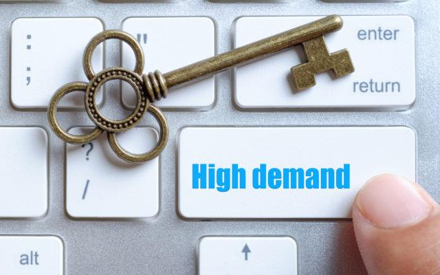 bitcoin ethereum high demand
