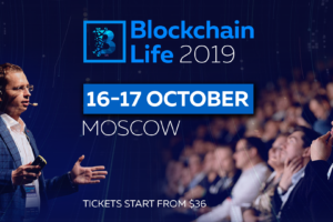 blockchain life 2019 conference moscow