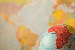 Bitcoin africa globe